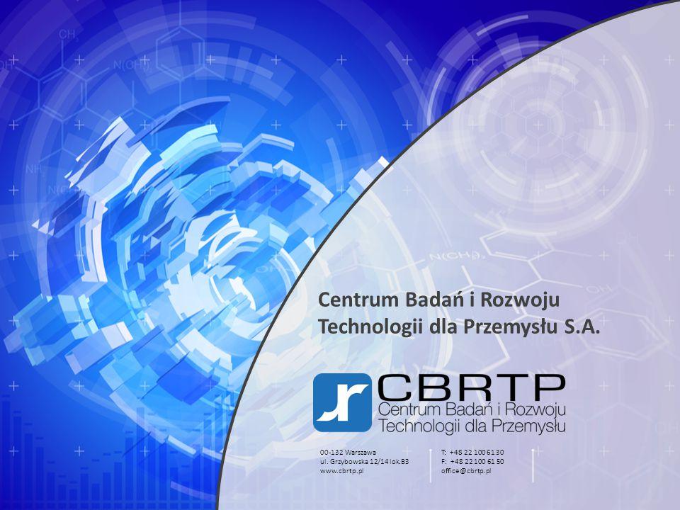 Centrum Badań i Rozwoju Technologii dla Przemysłu S.A.