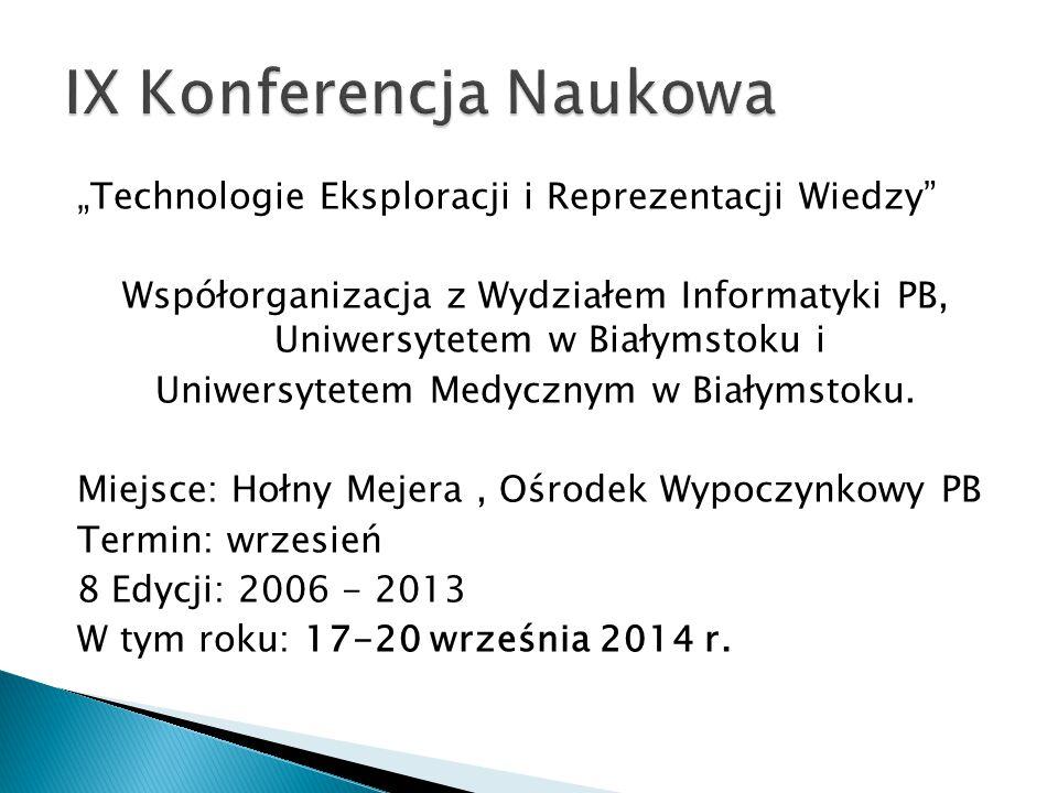 IX Konferencja Naukowa