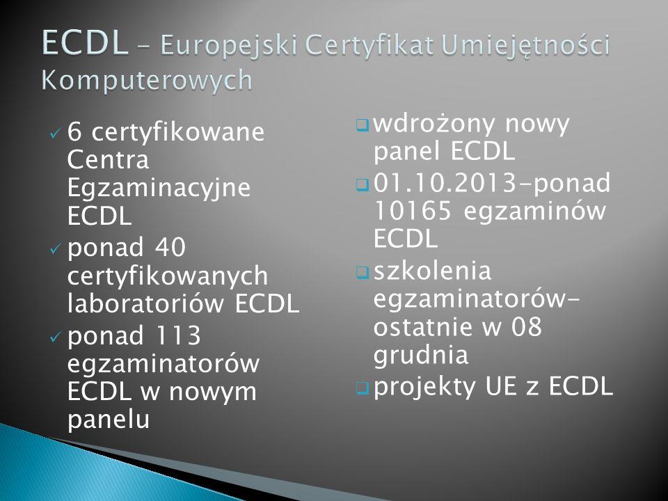 ECDL - Europejski Certyfikat Umiejętności Komputerowych