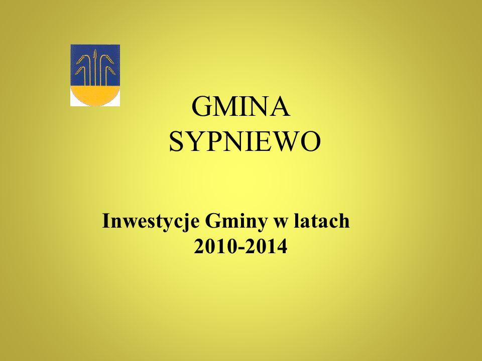 Inwestycje Gminy w latach 2010-2014