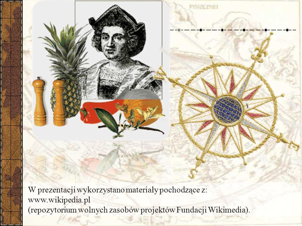 W prezentacji wykorzystano materiały pochodzące z: www. wikipedia