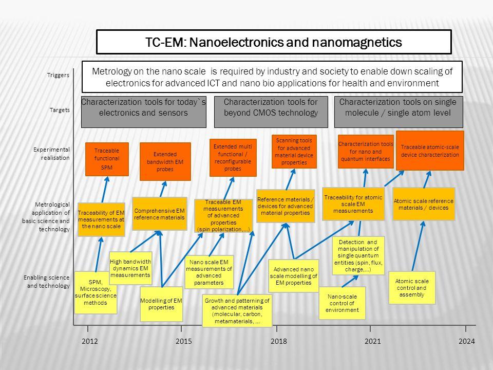 TC-EM: Nanoelectronics and nanomagnetics
