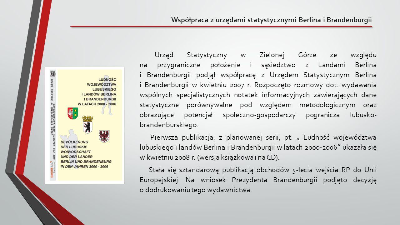 Współpraca z urzędami statystycznymi Berlina i Brandenburgii