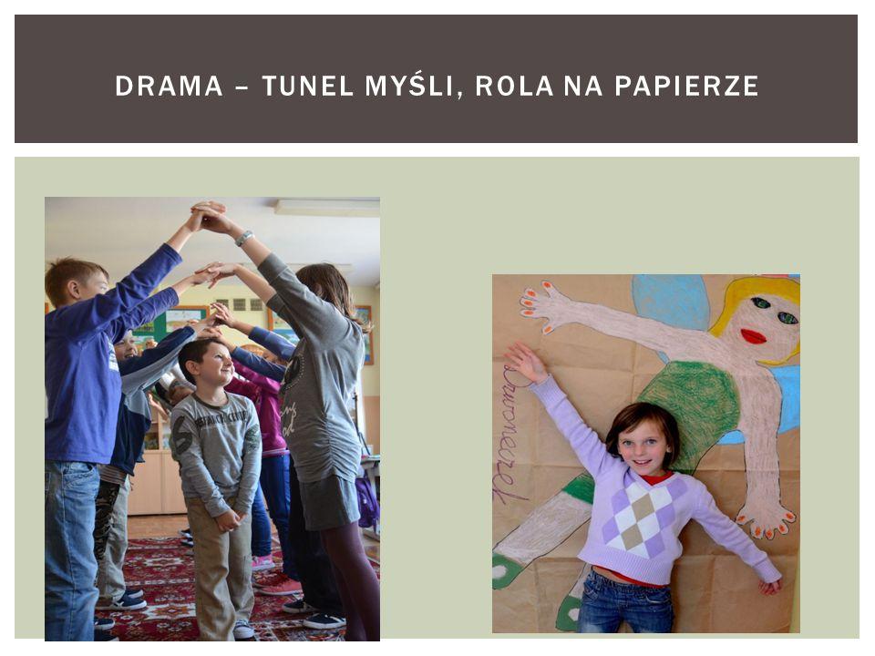 Drama – Tunel myśli, rola na papierze