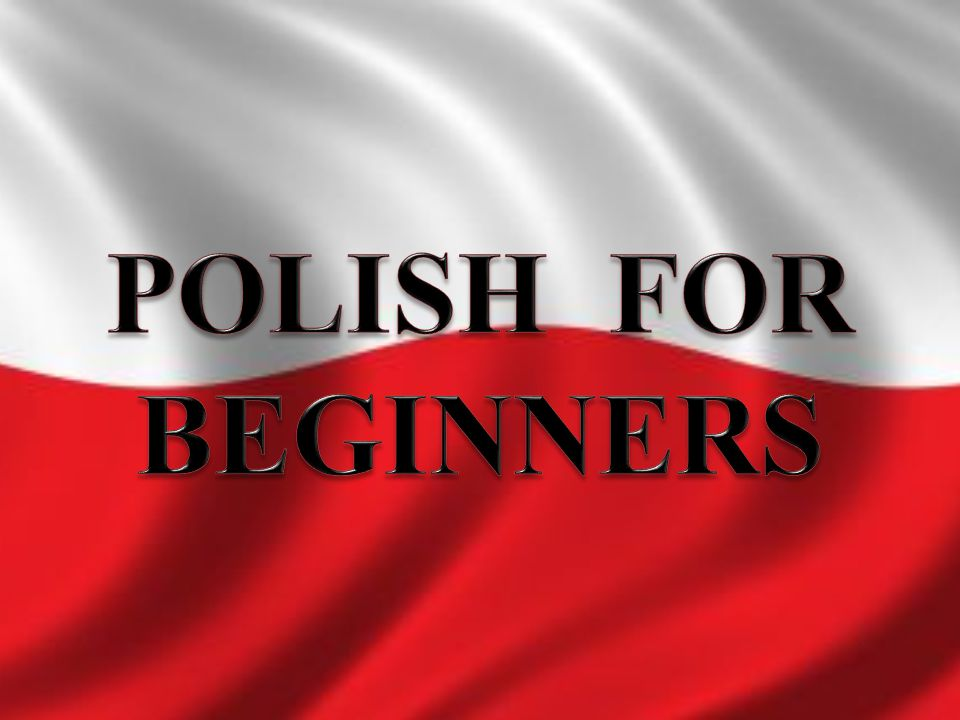 POLISH FOR BEGINNERS