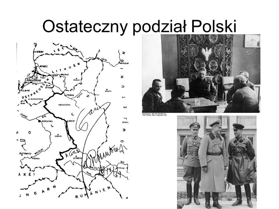 Ostateczny podział Polski