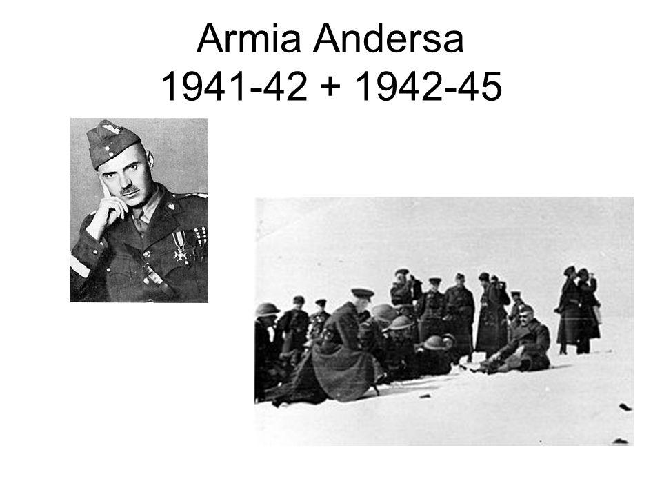 Armia Andersa 1941-42 + 1942-45