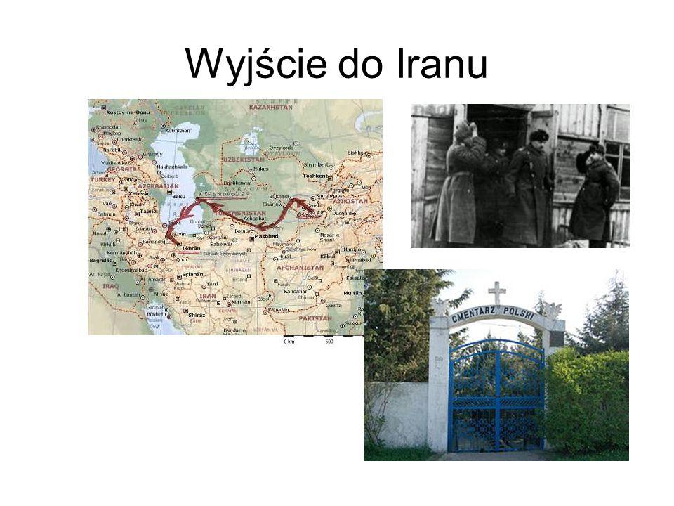 Wyjście do Iranu