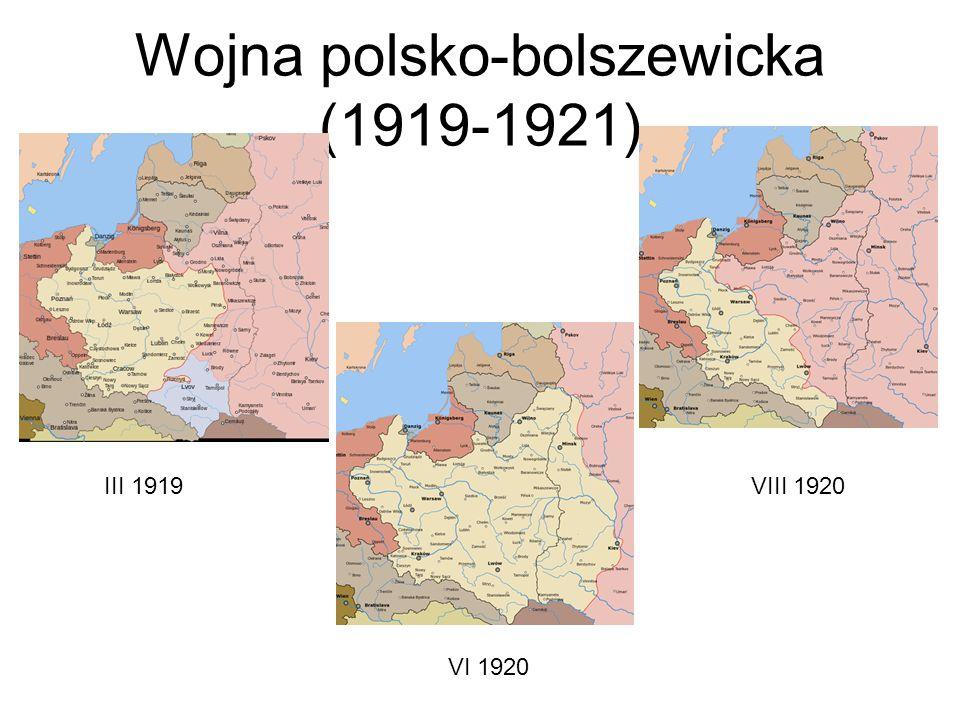 Wojna polsko-bolszewicka (1919-1921)