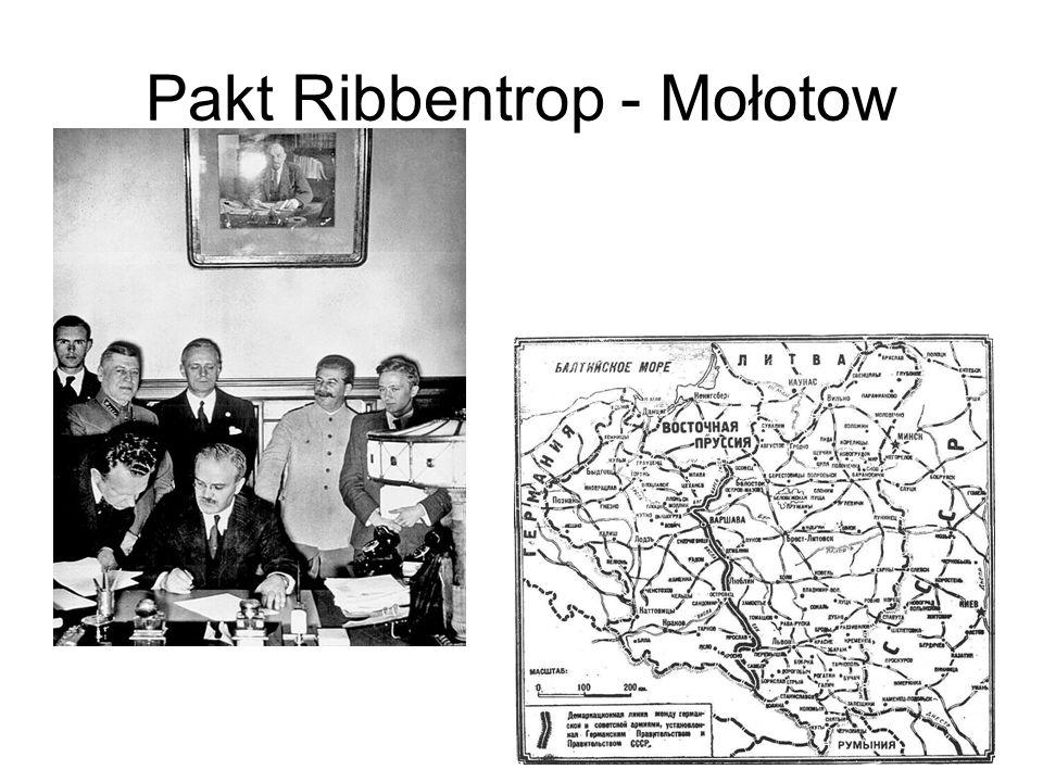 Pakt Ribbentrop - Mołotow