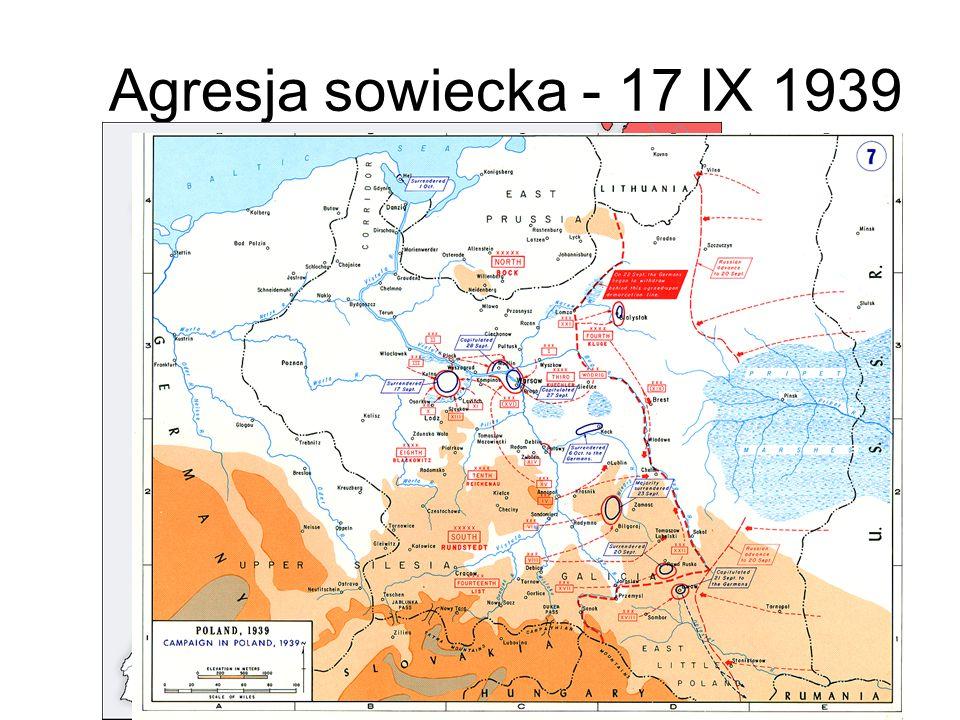 Agresja sowiecka - 17 IX 1939