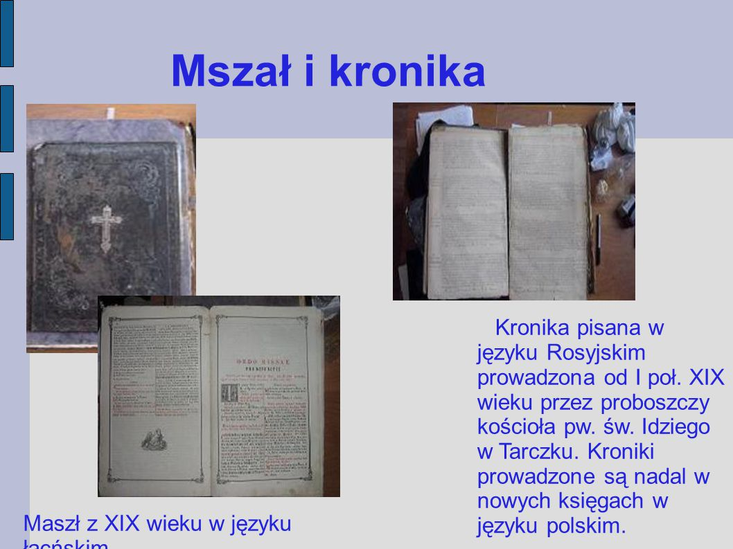 Mszał i kronika