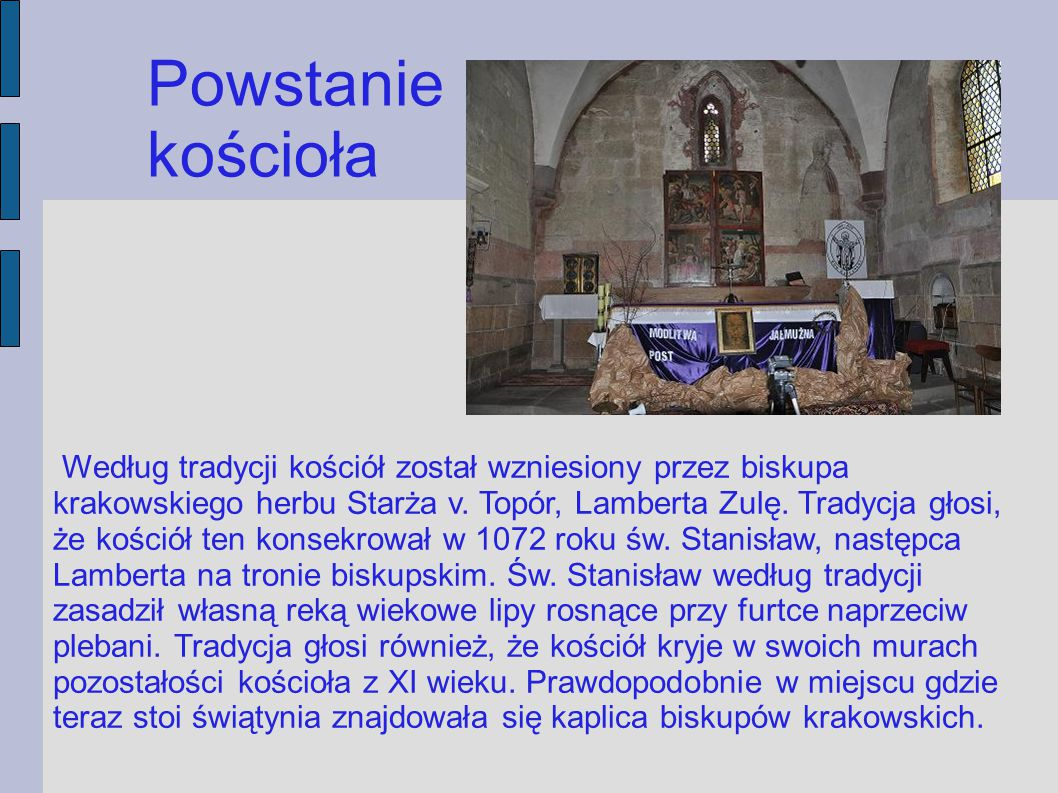 Powstanie kościoła