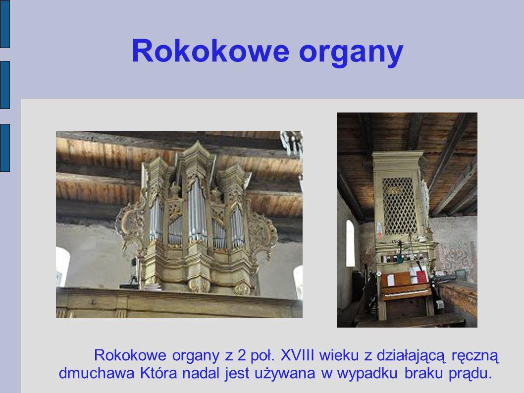 Rokokowe organy Rokokowe organy z 2 poł.