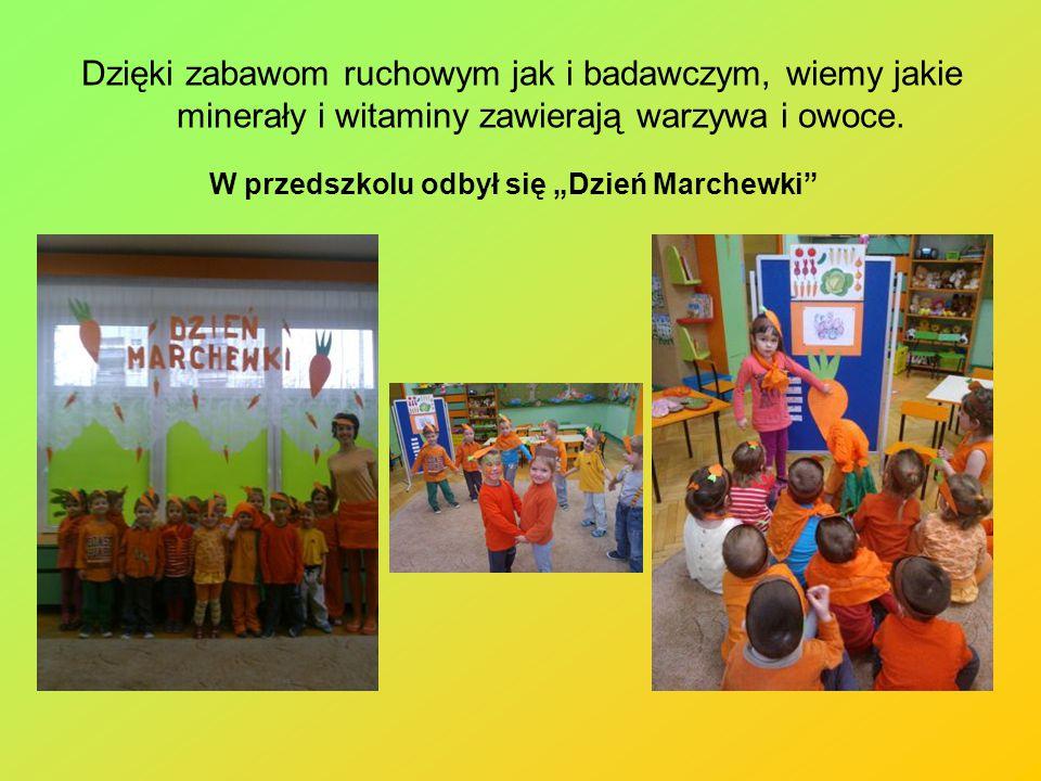 """W przedszkolu odbył się """"Dzień Marchewki"""