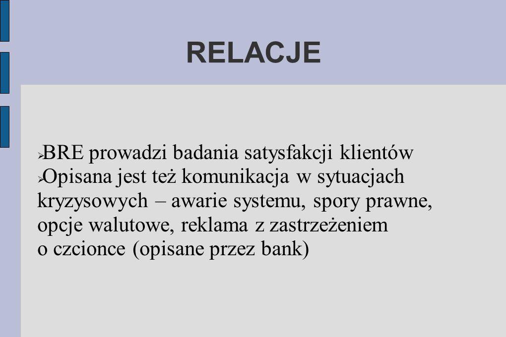 RELACJE BRE prowadzi badania satysfakcji klientów