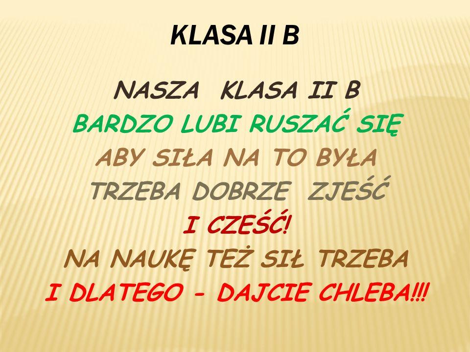 I DLATEGO - DAJCIE CHLEBA!!!