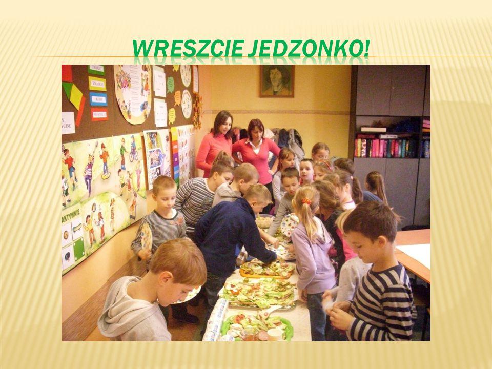 WRESZCIE JEDZONKO!