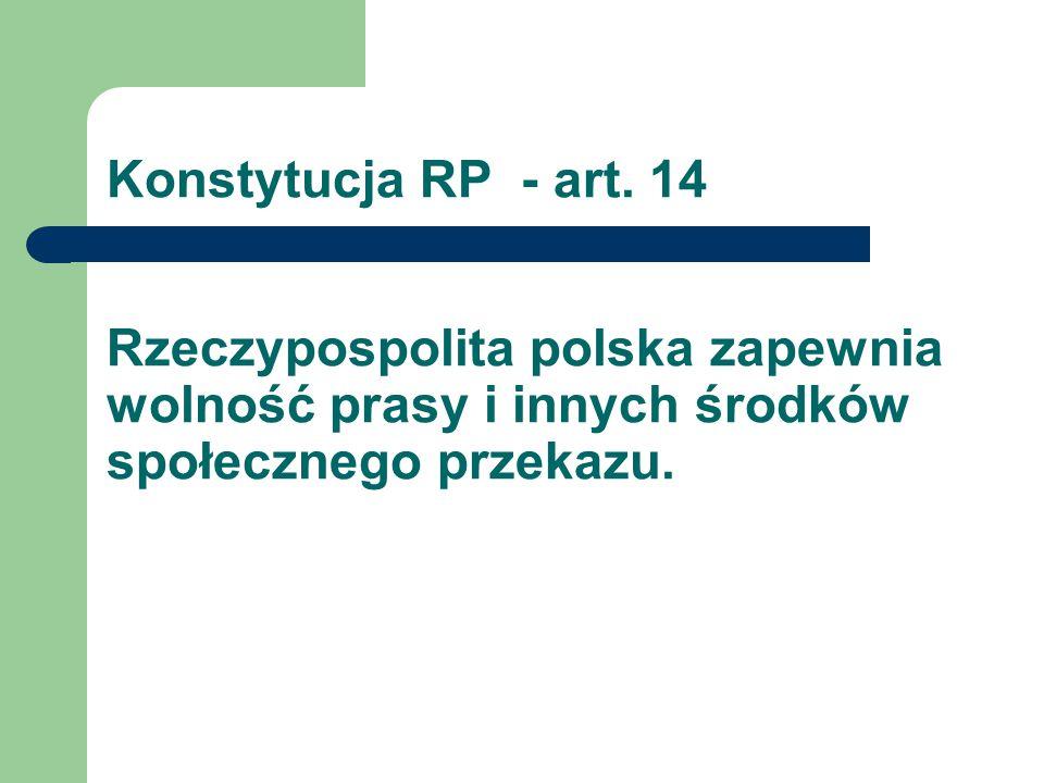Konstytucja RP - art.