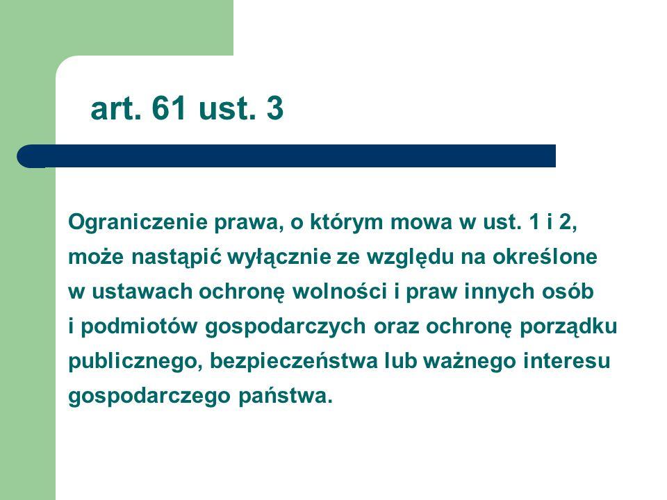 art. 61 ust. 3