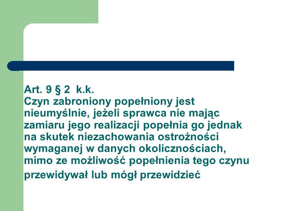 Art. 9 § 2 k.k.