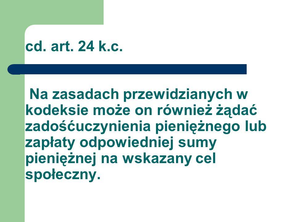 cd. art. 24 k.c.