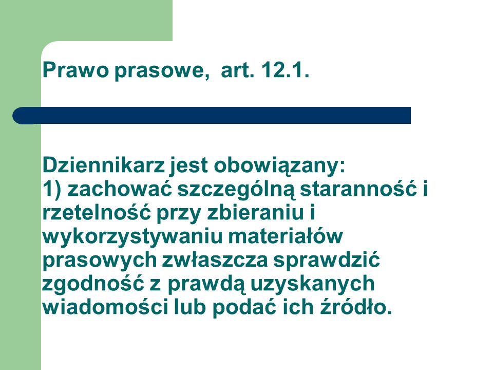 Prawo prasowe, art. 12.1.