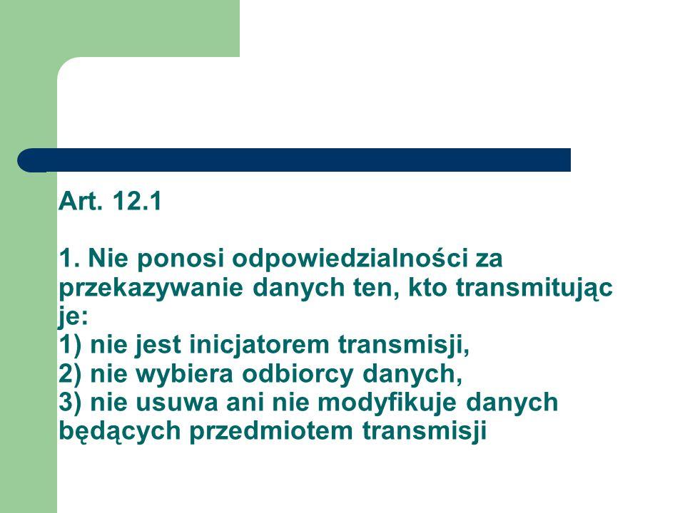 Art. 12.1 1.