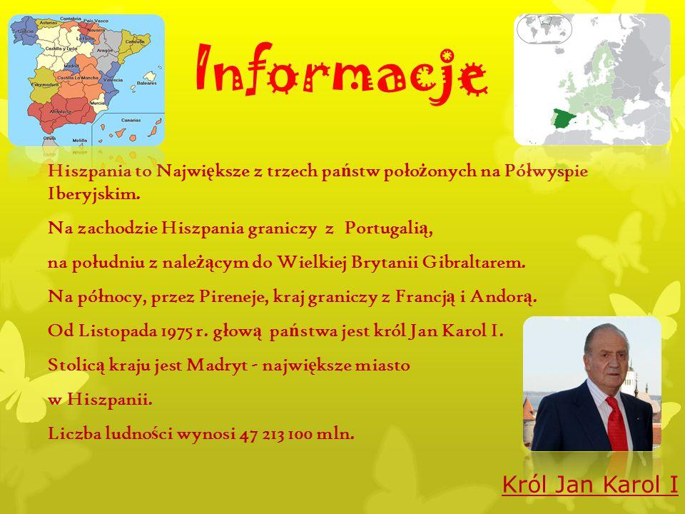 Informacje Król Jan Karol I