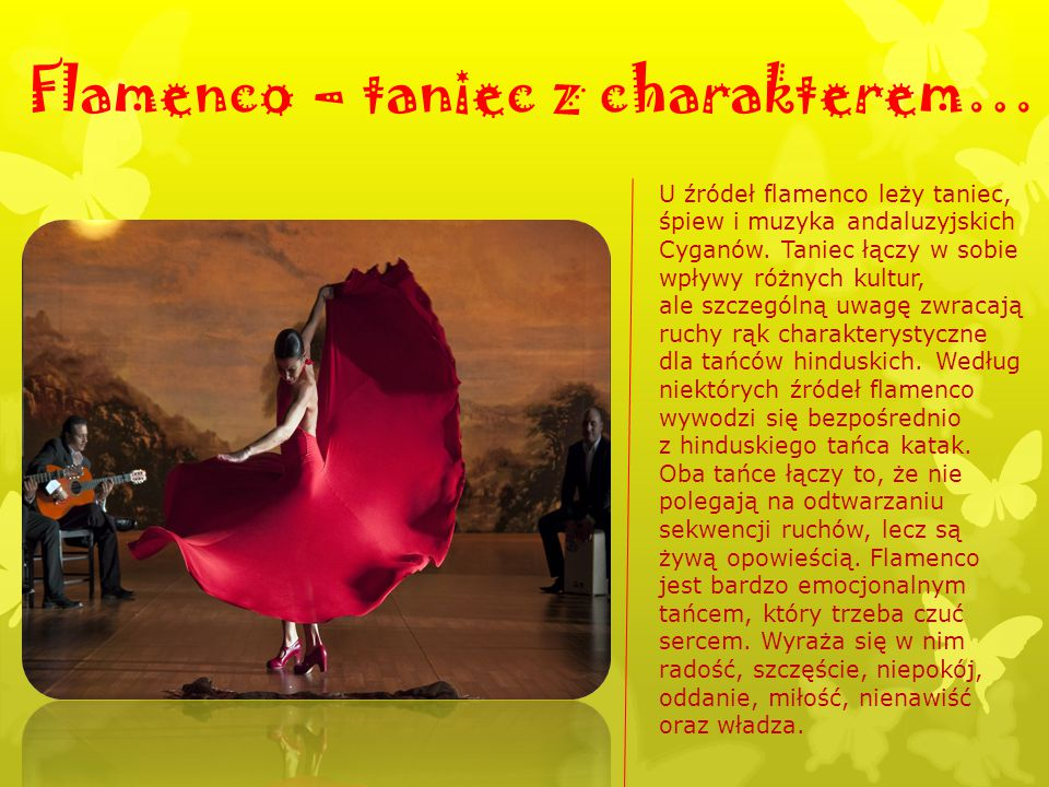 Flamenco – taniec z charakterem…