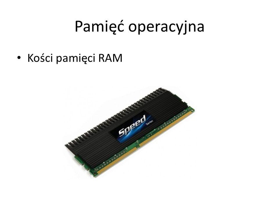 Pamięć operacyjna Kości pamięci RAM