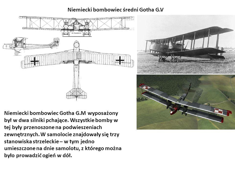 Niemiecki bombowiec średni Gotha G.V