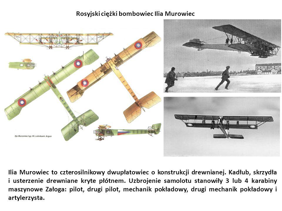 Rosyjski ciężki bombowiec Ilia Murowiec