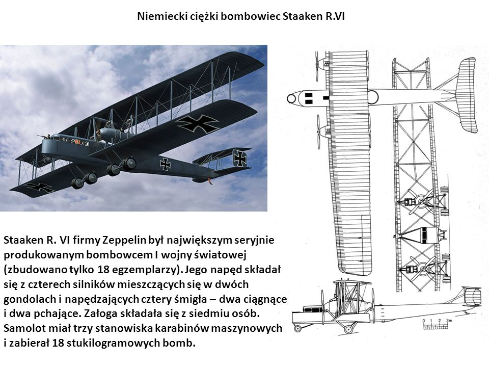 Niemiecki ciężki bombowiec Staaken R.VI