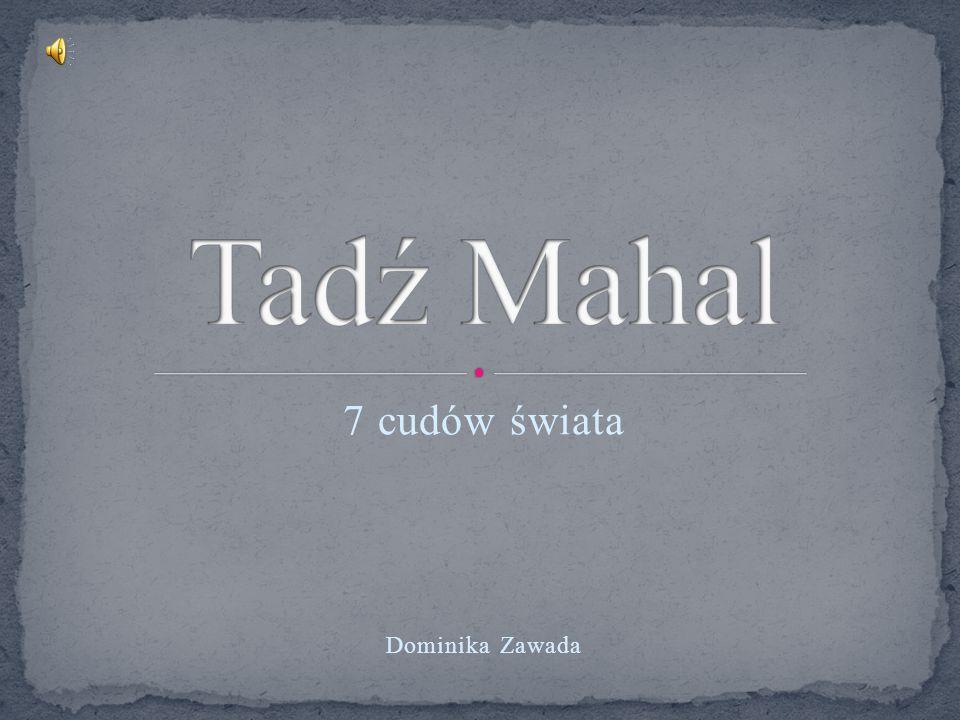 7 cudów świata Dominika Zawada