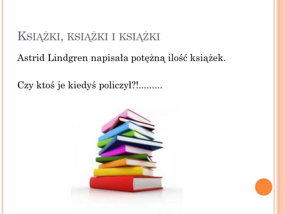 Książki, książki i książki