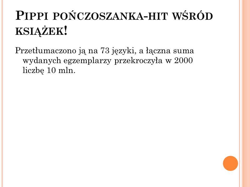 Pippi pończoszanka-hit wśród książek!
