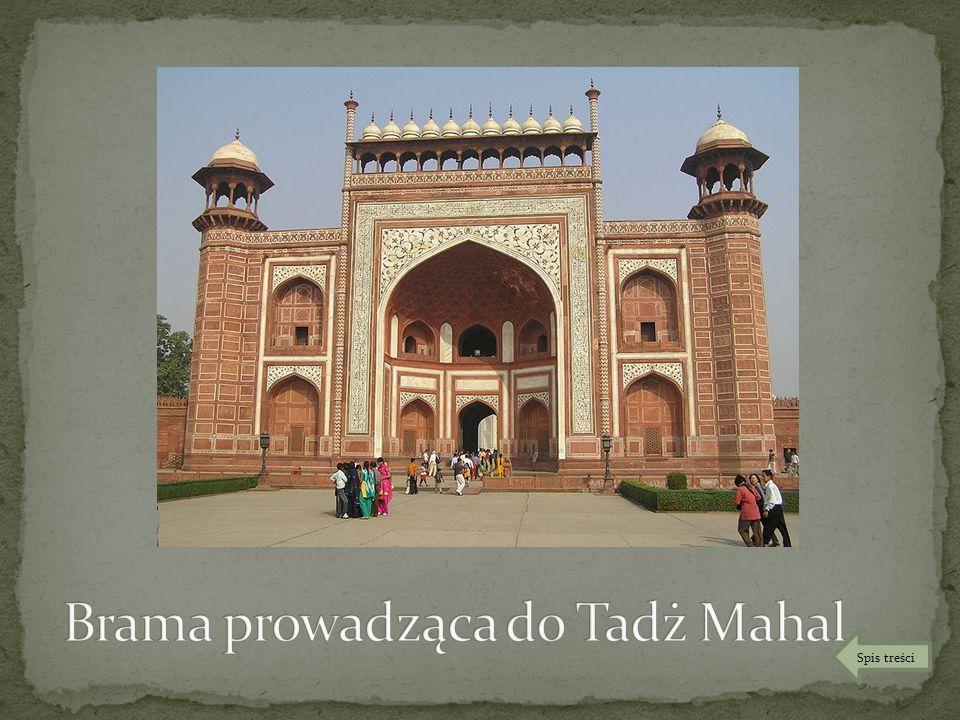 Brama prowadząca do Tadż Mahal