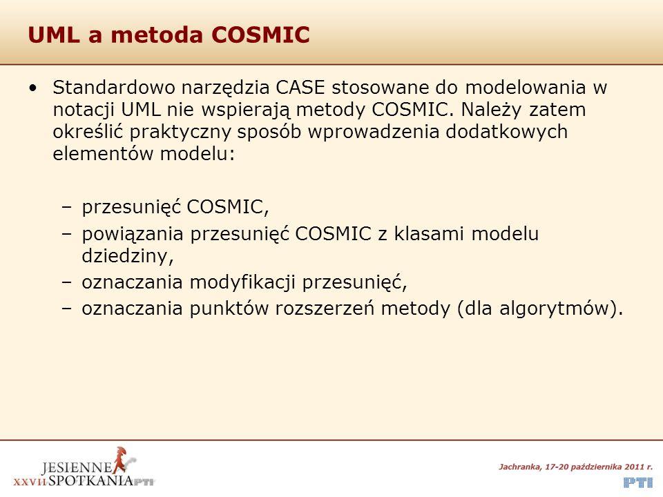 UML a metoda COSMIC
