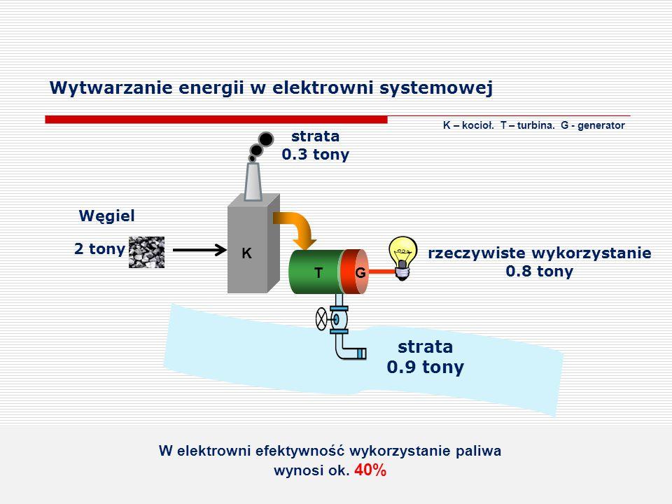Wytwarzanie energii w elektrowni systemowej