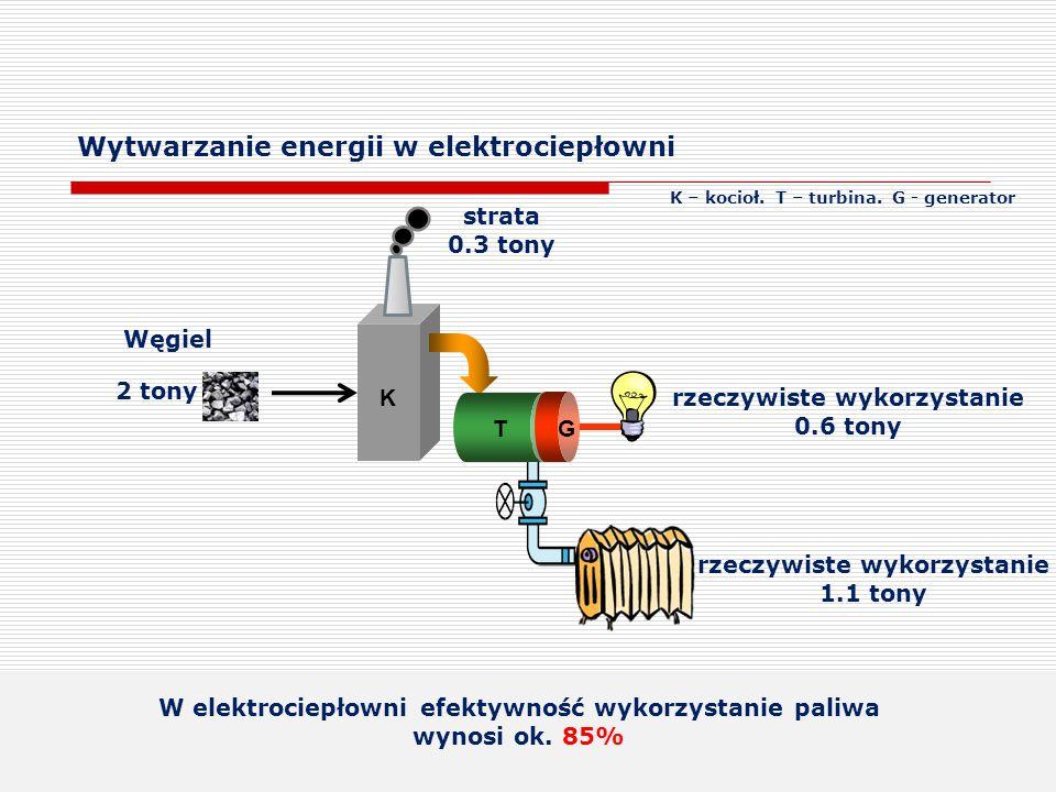 Wytwarzanie energii w elektrociepłowni