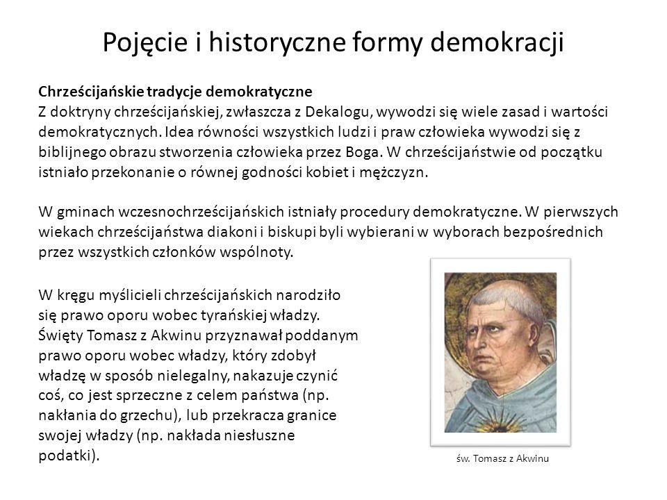 Pojęcie i historyczne formy demokracji