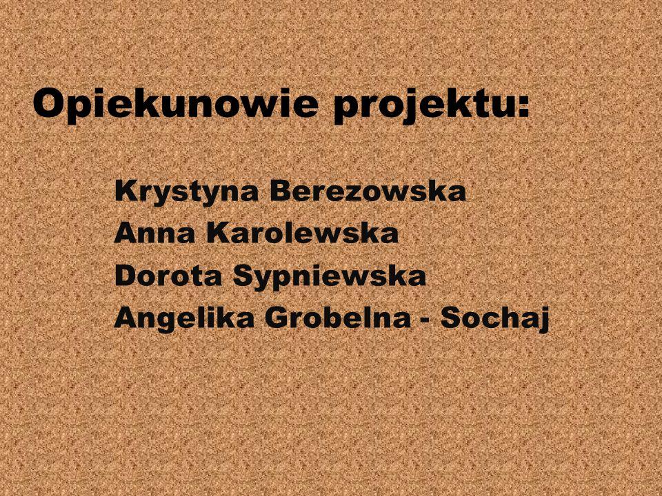 Opiekunowie projektu: