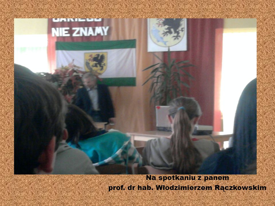 prof. dr hab. Włodzimierzem Rączkowskim