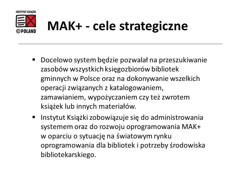 MAK+ - cele strategiczne