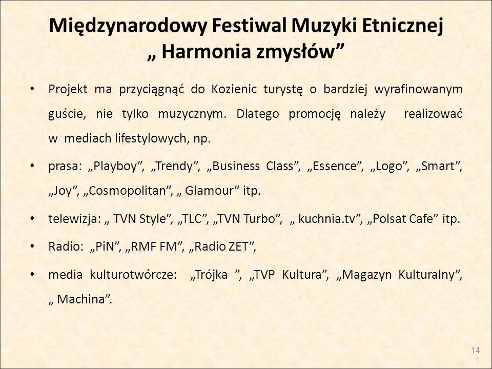 """Międzynarodowy Festiwal Muzyki Etnicznej """" Harmonia zmysłów"""