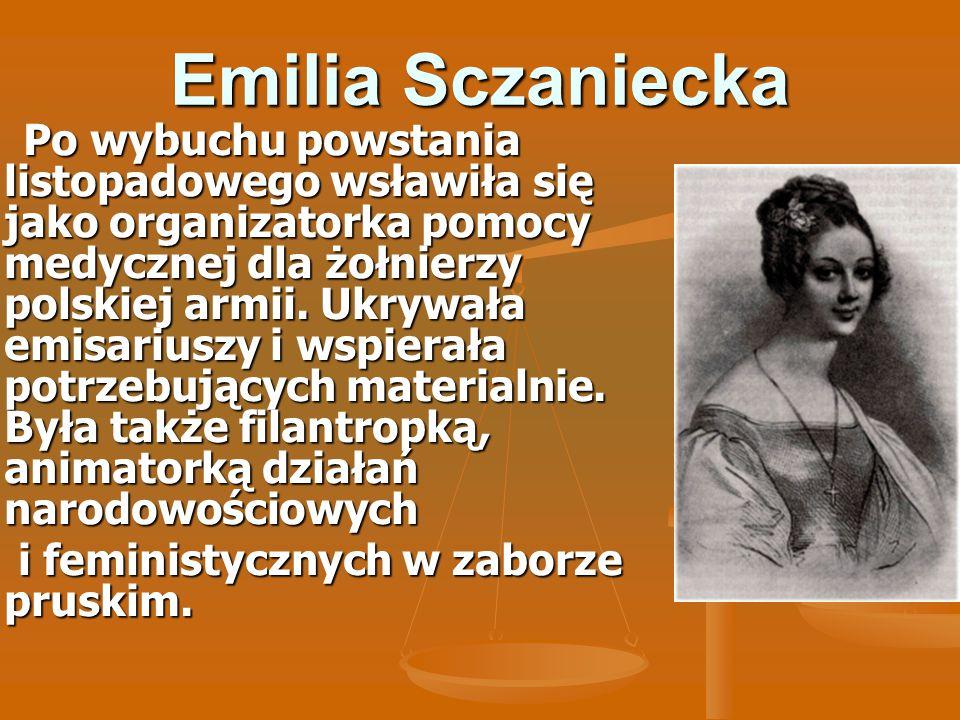 Emilia Sczaniecka i feministycznych w zaborze pruskim.
