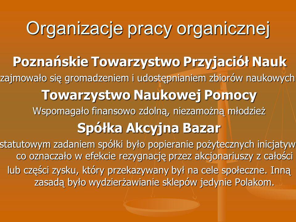 Organizacje pracy organicznej