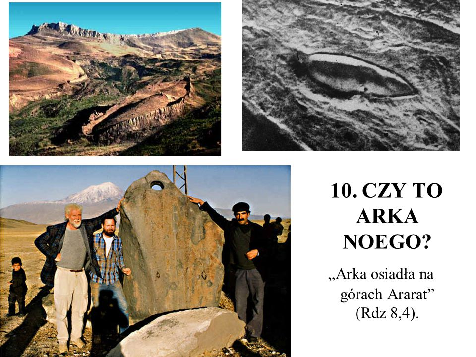 """""""Arka osiadła na górach Ararat (Rdz 8,4)."""