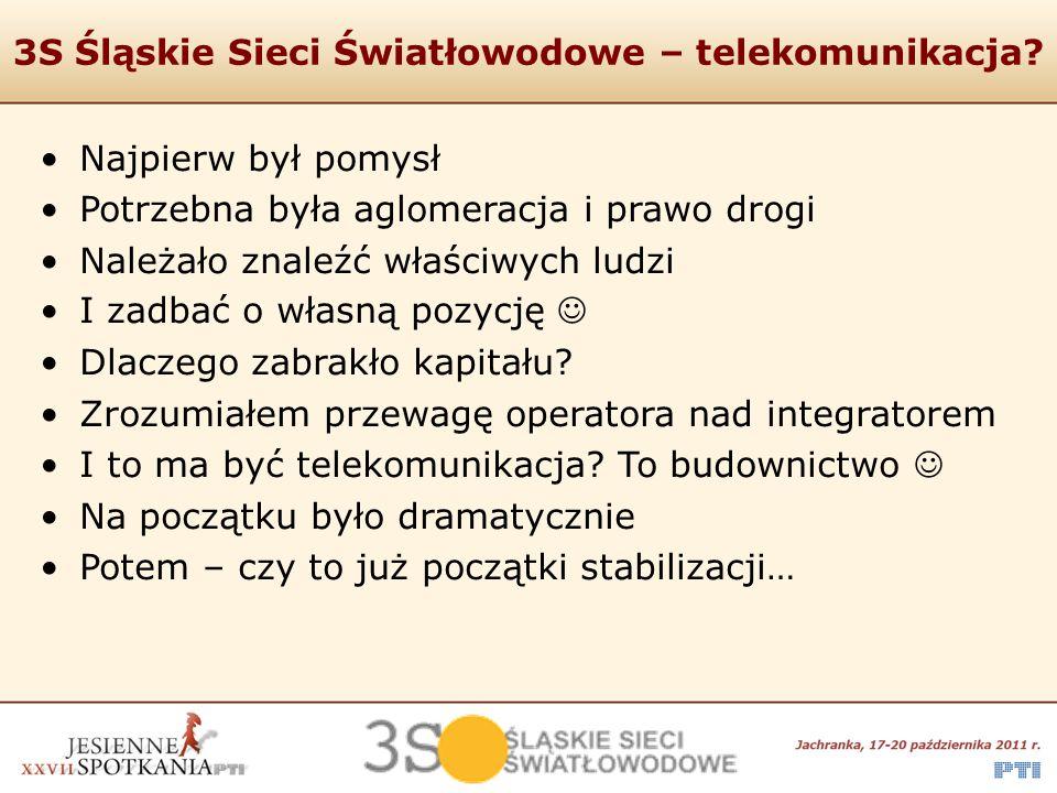 3S Śląskie Sieci Światłowodowe – telekomunikacja